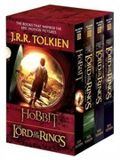 J.R.R. Tolkien 4-Book Boxed Set: The Hobbit and The Lord of the Rings (Movie Tie-in) 1st Edition 9780345538376 0345538374