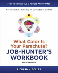 What Color Is Your Parachute Job-Hunter's Workbook 4th Edition 9781607744979 160774497X