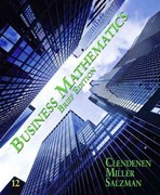 Business Mathematics Brief Plus MyMathLab -- Access Card Package/MyStatLab -- Access Card Package 12th Edition 9780132770064 0132770067