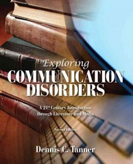 Exploring Communication Disorders 2nd Edition 9781256632184 125663218X