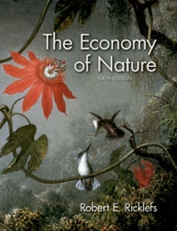 The Economy of Nature 6th edition 9780716786979 0716786974