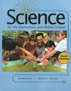 Science for the Elementary and Middle School 9th edition 9780130213136 0130213136