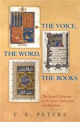 The Voice, the Word, the Books 0 9780691131122 0691131120