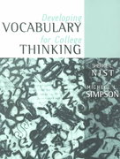 Developing Vocabulary for College Thinking 1st edition 9780205323265 020532326X