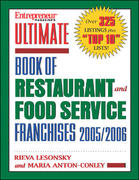 Ultimate Book of Restaurant and Food Service Franchises 2005 1st edition 9781932531329 1932531327