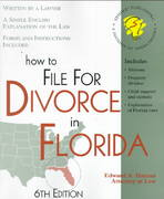 How to File for Divorce in Florida 6th edition 9781572480933 1572480939