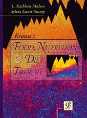 Krause's Food, Nutrition, and Diet Therapy 9th Edition 9780721658353 0721658350
