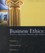 Business Ethics 5th edition 9780618124145 0618124144