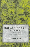 Horace Odes II 0 9780198721635 0198721633