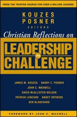 Christian Reflections on The Leadership Challenge 1st Edition 9780787983376 0787983373