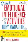 Quick Emotional Intelligence Activities for Busy Managers 0 9780814408957 0814408958