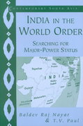 India in the World Order 0 9780521528757 0521528755