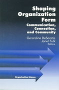 Shaping Organization Form 1st edition 9780761904953 0761904956