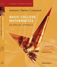 Basic College Mathematics 8th edition 9780547016740 0547016743