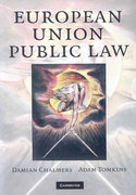European Union Public Law 1st edition 9780521882378 0521882370