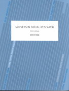 Surveys In Social Research 5th edition 9780415268585 0415268583