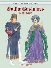 Gothic Costumes Paper Dolls 0 9780486413297 0486413292