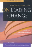 On Leading Change 1st Edition 9780787960704 0787960705