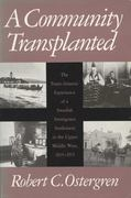 A Community Transplanted 1st edition 9780299113247 0299113248