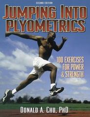 Jumping into Plyometrics 2nd Edition 9780880118460 0880118466