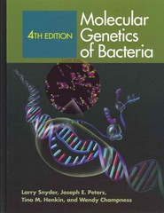 Molecular Genetics of Bacteria 4th Edition 9781555816278 1555816274