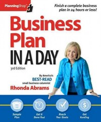 Business Plan in a Day 3rd Edition 9781933895376 1933895373