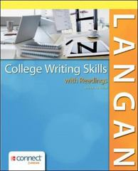 College Writing Skills with Readings 9th Edition 9780078036279 0078036275