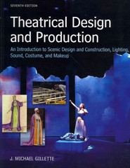 Theatrical Design and Production 7th Edition 9780073382227 0073382221