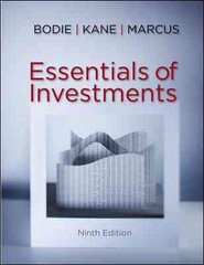 Essentials of Investments with Connect Plus 1st Edition 9780077753870 0077753879