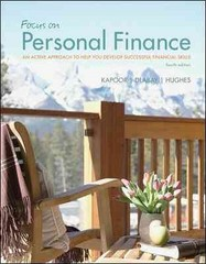 Focus on Personal Finance An Active Approach to Help You Develop ...