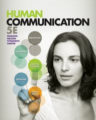 Human Communication 5th Edition 9780078036873 0078036879