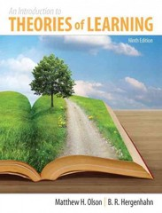 An Introduction to Theories of Learning 9th Edition 9781317350699 1317350693