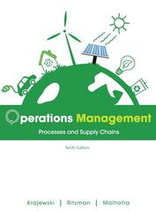 Operations Management 10th edition 9780132960557 0132960559