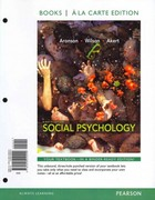 Social Psychology, Books a la Carte Plus NEW MyPsychLab with eText -- Access Card Package 8th edition 9780205249305 0205249302