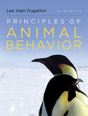 Principles of Animal Behavior 3rd Edition 9780393920451 0393920453