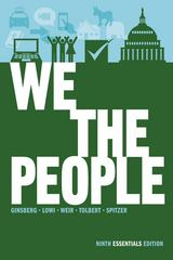 We the People 9th edition 9780393921106 0393921107