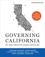 Governing California in the Twenty-First Century 4th Edition 9780393919158 0393919153