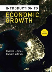 Introduction to Economic Growth 3rd Edition 9780393919172 039391917X