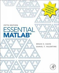 Essential MATLAB for Engineers and Scientists 5th Edition 9780123943989 0123943981