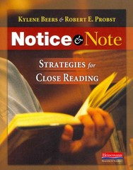 Notice and Note 1st Edition 9780325046938 032504693X