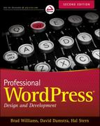 Professional WordPress 2nd edition 9781118442272 111844227X