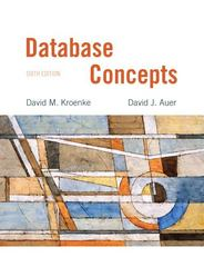 Database Concepts 6th Edition 9780132742924 0132742926
