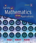 A Survey of Mathematics with Applications Expanded Edition Pkg Tesc