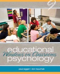 Educational Psychology: Windows on Classrooms Plus MyEducationLab with Pearson eText -- Access Card Package 9th Edition 9780132893572 0132893576