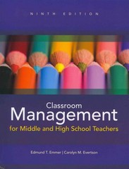 Classroom Management for Middle and High School Teachers Plus MyEducationLab with Pearson eText -- Access Card Package 9th edition 9780132893596 0132893592