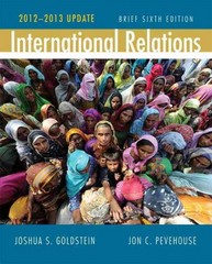 International Relations, Brief Edition, 2012-2013 Update Plus MyPoliSciLab with eText -- Access Card Package 6th edition 9780205844005 0205844006