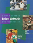 Business Mathematics for Colleges 11th edition 9780538840347 053884034X