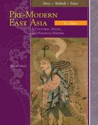 Pre-Modern East Asia 2nd edition 9780547005393 0547005393