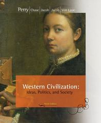Western Civilization: Ideas, Politics, and Society 9th edition 9780547147017 0547147015