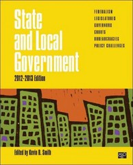 State and Local Government, 2012-2013 Edition 0 9781452258959 1452258953